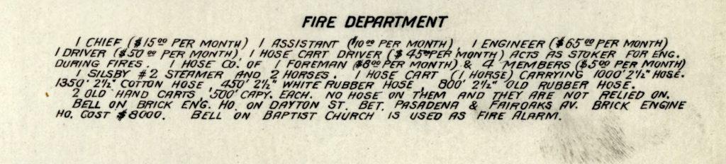 Sanborn Fire Insurance Map from Pasadena, Los Angeles County, California. Sanborn Map Company, Jun, 1890. Map. https://www.loc.gov/item/sanborn00749_004/