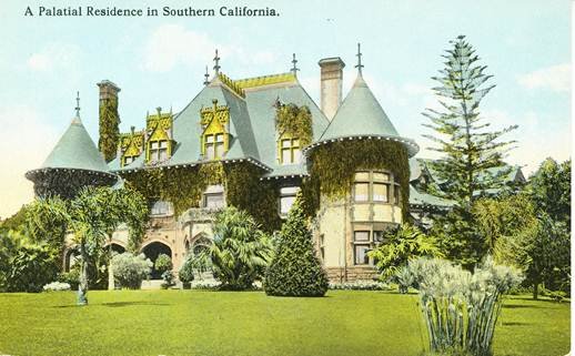 The Durand home (Postcard Collection)