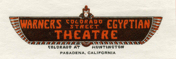 Letterhead, 9 May 1936. (Fenyes Collection, FCP.162.4)