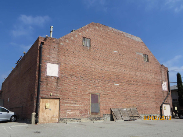 Uptown Theater, back view, 4 October 2013 (Photograph by Sheryl Peters)