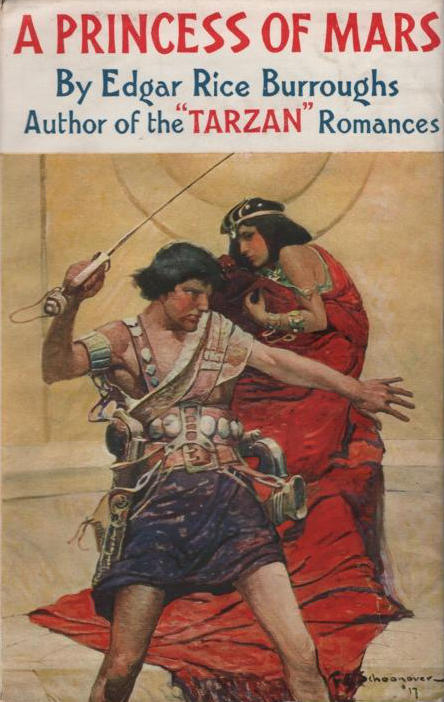 Cover of A Princess of Mars.