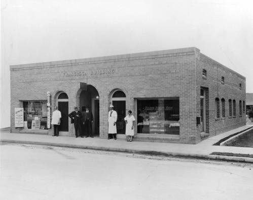 The Francisca Building, 1923. Located at 22-26 W. Dayton St., it was the first commercial building commissioned by an African-American for occupancy by African American businesses (Black History Collection, BH-L-48-3)