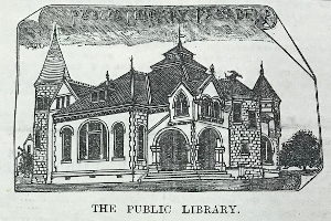 Sketch from Pasadena Daily Evening Star, 9/8/1890, Page 1 (Newspaper Collection)