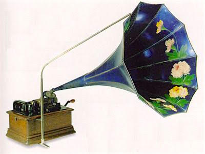 Edison phonograph. Courtesy of Galen Wilkes